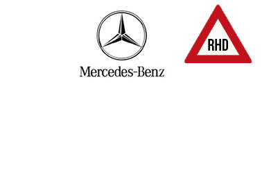 Right Hand Drive - Mercedes