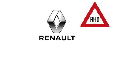 Right Hand Drive - Renault