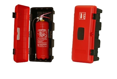 Fire extinguisher boxes